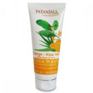 Patanjali-Face-Wash-Orange-Aloe-Vera