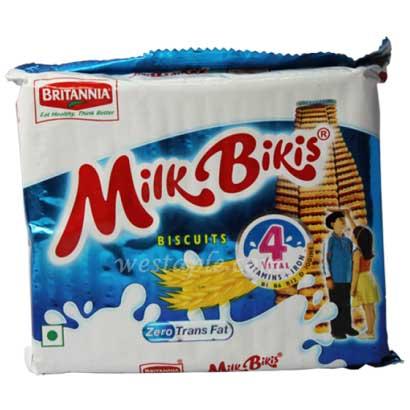 Britannia Milk Bikis Biscuits