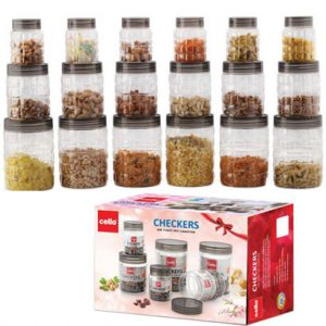 Cello-Checkers-Container-Set