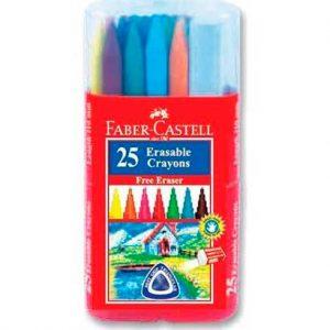 Faber-Castell-25-Erasable-Plastic-Crayons