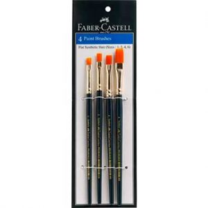 Faber-Castell-4-Paint-Brushes